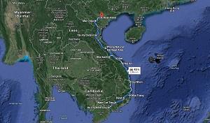 vietnam map Copy